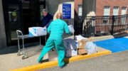 Housatonic Community College Donates Critical Medical Supplies  To Hospital Fighting Coronavirus