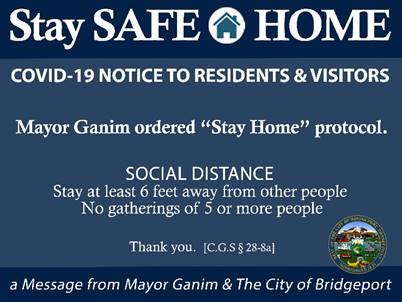 Bridgeport mayor issues receommended curfew of 8 p.m. for city