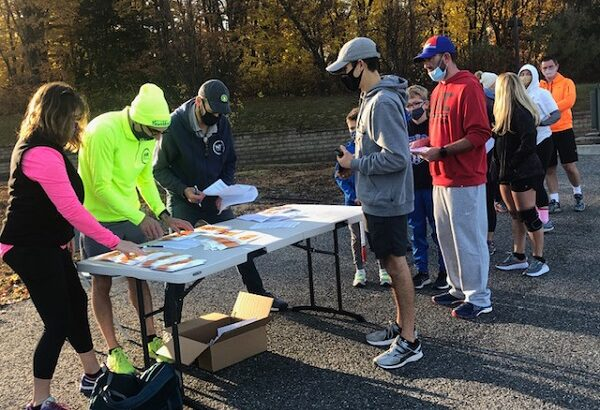"Over 150 Runners from all over the State of Connecticut participated in ""Get Your Rear in Gear"" 5 K and 10 K races"