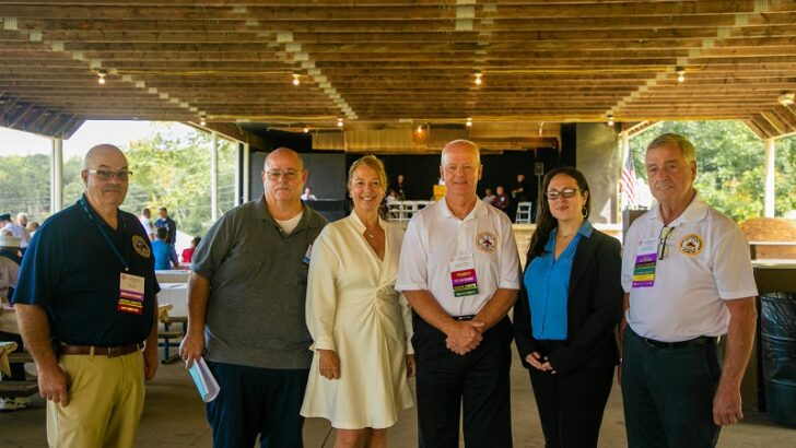 CSFA convention recognizes newly elected officers and honors Reps. Borer and Rochelle for advocacy