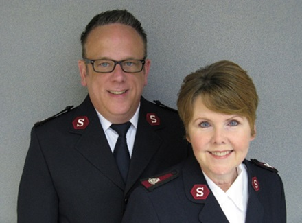 The Salvation Army Welcomes New Leaders to CT & RI