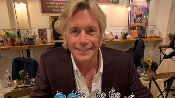 Actor Christopher Atkins celebrates 60 at Wake-Cup-Coffee in Fairfield